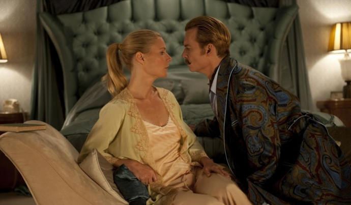 gwyneth paltrow and johnny depp_ MORTDECAI_0