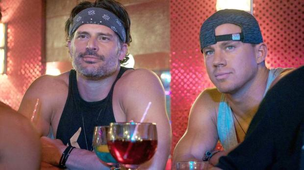 "(L-r) JOE MANGANIELLO as Richie and CHANNING TATUM as Mike in Warner Bros. Pictures', ""MAGIC MIKE XXL,"" a Warner Bros. Pictures release. from Warner Bros. media pass"